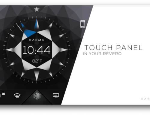 Karma Automotive Touch Panel Video
